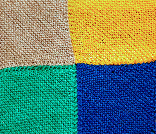 knitted patchwork blankets2: colourful warm woolen knitted patchwork blankets