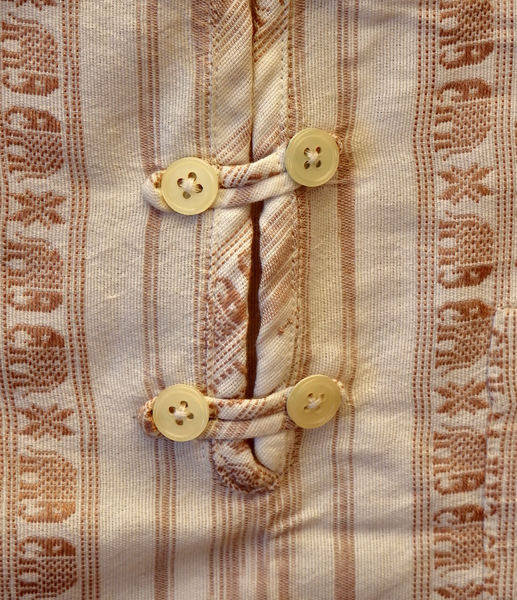 Asian button-ups13: Asian buttoning/fastening of ethnic shirts/tops