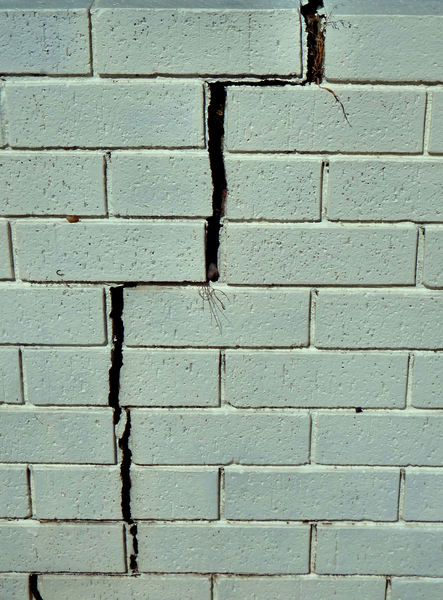 wall cracks3: variations, textures & crack in painted brick wall