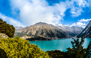 Lake: Kazakhstan, Big Almaty Lake