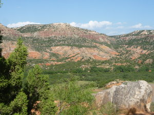Palo Duro Canyon: Palo Duro Canyon is located near Amarillo Texas