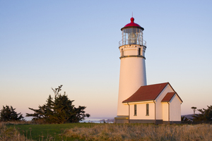 Cape Blanco Lighthouse: Cape Blanco Lighthouse, Cape Blanco, Oregon.