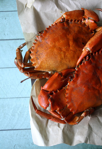 Crab: Steamed crabs