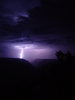 lightning over grand canyon 2: rare shots of a thunderstorm over the grand canyon