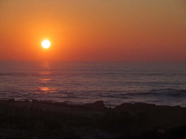 Sunset 4: Sunset at Guincho, Portugal.