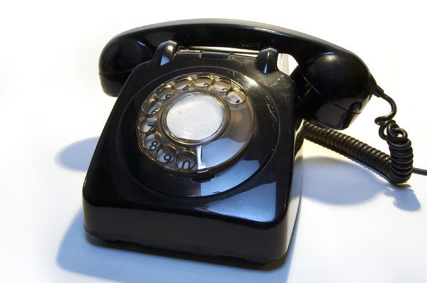 Old telephone 5: ...