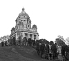 Ashton Memorial 4 B/W: The Ashton Memorial, Williamson Park, Lancaster, UK.