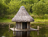 Crannog: A small crannog near Kenmare, County Kerry.