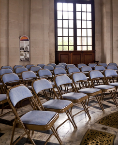 Venue 2: The ground floor hall of the Ashton Memorial set up for an event.