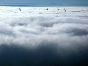 Windmills in floating clouds: Windmills in floating clouds