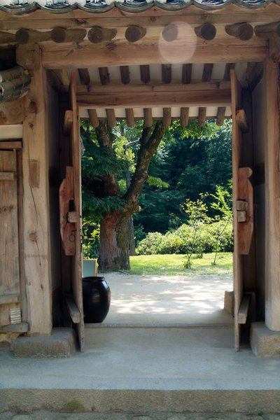 Door of KOREAN old style: Door of KOREAN old style