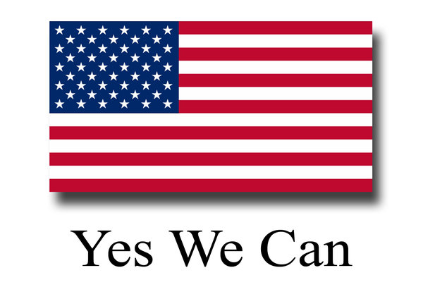 Yes We Can: US unofficial election mantra