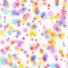 Colourful Star Background 1: A background decorated with fantasy stars in multi-colours. Hi res.