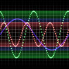 Sound Waves 2: A colourful representation of sound waves. You may prefer:  http://www.rgbstock.com/photo/o6gU8BG/Sound+Waves+3  or:  http://www.rgbstock.com/photo/o6gVih4/Sound+Waves+1