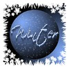 Winter Graphic 2: A graphic button with snowflakes and the word,