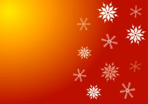 Christmas Background: Festive colours and snowflakes makes this background perfect for Christmas.