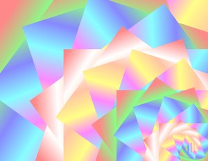 Carnival Coloured Spiral: Abstract carnival image in pastel shades. Great desktop, wallpaper, background,texture, element or fill.