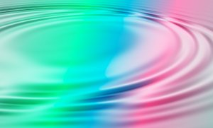 Water Ripples: Colourful gradient with rippled water effect. Great illustration.