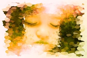 Sleeping Child 4: Dreamy abstract image of a beautiful sleeping child. Please read the image license for allowed usage of this image, or contact me.