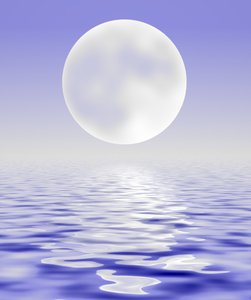 Water and Sky and Moon: