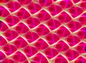 Fractal Texture 3: A fractal background, fill or texture in vivid colours.