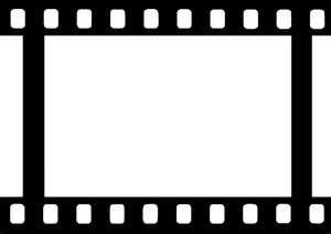 Filmstrip Blank 1: A blank filmstrip you can use to frame your own images on webpages, banners and in print.