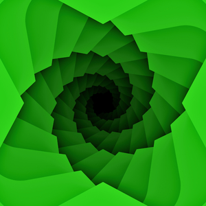 Green Spiral: A black and green decorative spiral. You may prefer:  http://www.rgbstock.com/photo/o6FyEiC/Grungy+Retro+burst+9  or:  http://www.rgbstock.com/photo/obhJdGe/Waves+and+swirls+11