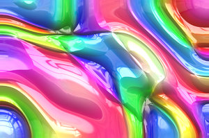 Shiny Plastic Background 3: Multi-coloured shiny plastic background. Beautiful eye-catching colours. Makes a great texture, background or fill.
