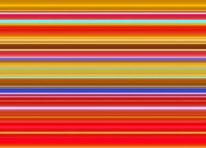 Stripes of Colour 5: Vivid multi-coloured striped background, texture or fill. Very attention-getting and pleasing to the eye.