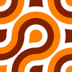 Retro Pattern 1: A seamless tile with a retro pattern in a 1970's style and colours. You may like:  http://www.rgbstock.com/photo/nQ0l0rc/Retro+Pattern+7 or: http://www.rgbstock.com/photo/nw4aOYE/Retro+Pattern+2