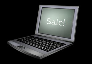 Computer Sales 3: A computer with a