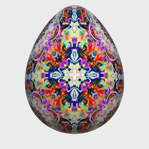 Decorated Egg 11: A unique decorated glossy egg. You may prefer:  http://www.rgbstock.com/photo/nJa1SQE/Egg+2  or:  http://www.rgbstock.com/photo/o0DelFm/Golden+Easter+Egg+1
