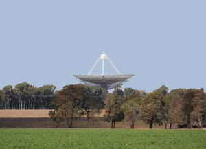 Radio Telescope Parkes NSW: 64 metre (210 feet) radio telescope at Parkes, in rural NSW. Affectionately known as