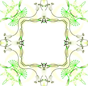 Ornate Floral Frame 4: An ornate vintage styled decorative floral frame. You may prefer: http://www.rgbstock.com/photo/nTCGQ2G/Victorian+Border  or:  http://www.rgbstock.com/photo/mVEl3Cw/Pretty+in+Pink+1 Great for scrapbooking, cards, poetry, etc.