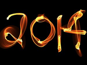 2014 d: A new year image for 2014, made of fire or light against a black background. You may prefer:  http://www.rgbstock.com/photo/o0UCgAM/2014+b  or:  http://www.rgbstock.com/photo/o0UChCa/2014+a