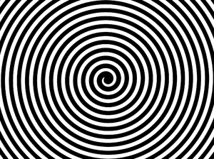Black and White Spiral: A black and white spiral. You may like:  http://www.rgbstock.com/photo/oyqRb5m/Spiral+Light+Background+5  or:  http://www.rgbstock.com/photo/n2qZcIe/Grungy+Retro+Burst+2