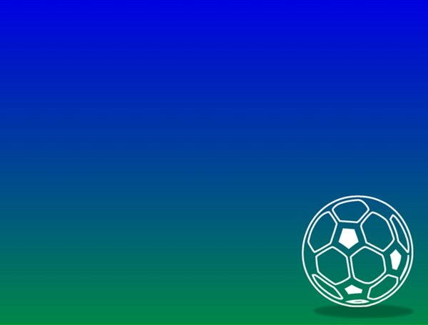 Footbal or Soccer Ball: Graphic illustrating a football in a field. Lots of copyspace. Used a Martin Vogel dingbat to create the ball. You might prefer:  http://www.rgbstock.com/photo/nsRzeaC/Dirty+Soccer+Ball