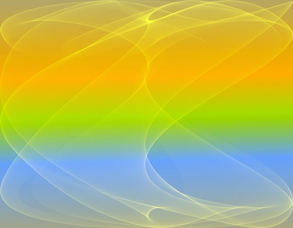 Gradient and Gossamer: Gossamer background in lemon and lime shades, suitable for backgrounds, textures, etc.