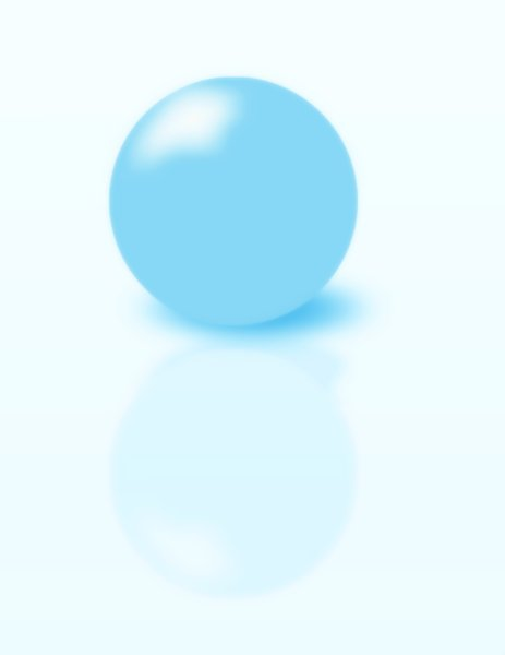 Blue Sphere: A blue orb or sphere. Could be anything from a planet to a crystal ball.