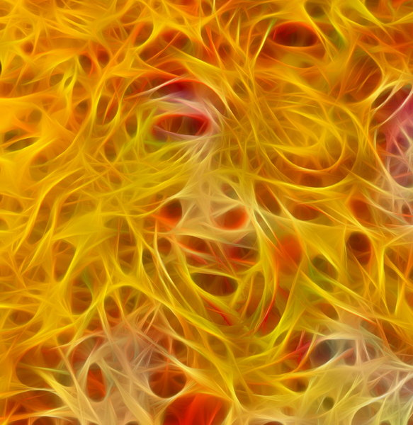 Fractal Fire: An eye-pleasing vivid fractal in fiery colours. Makes a great attention-getting background.