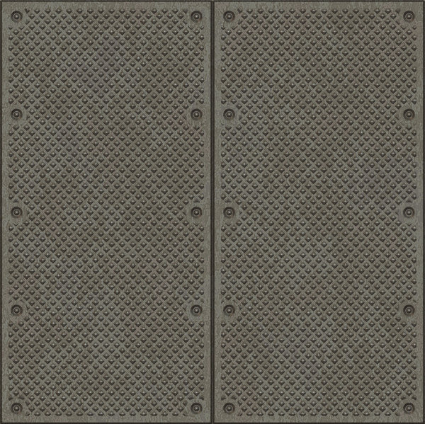Metal Plate: Textured metal plate with rivets. A great texture, backdrop, or fill for when you want an industrial grunge feel. A high resolution image.