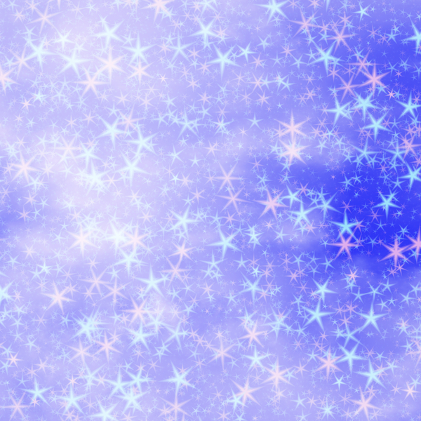 Pink and Blue Stars: