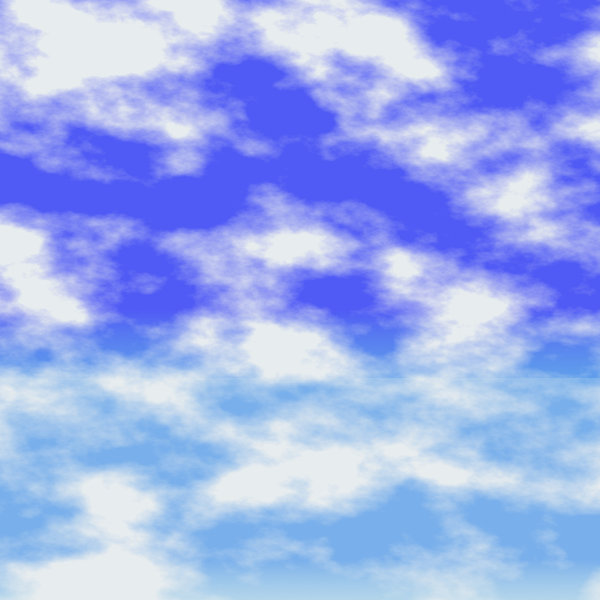 Sky, Sea Background 3: Blue skies over what could be water. A beautiful background that can represent many things. Not to be offered for download or sale on other sites.