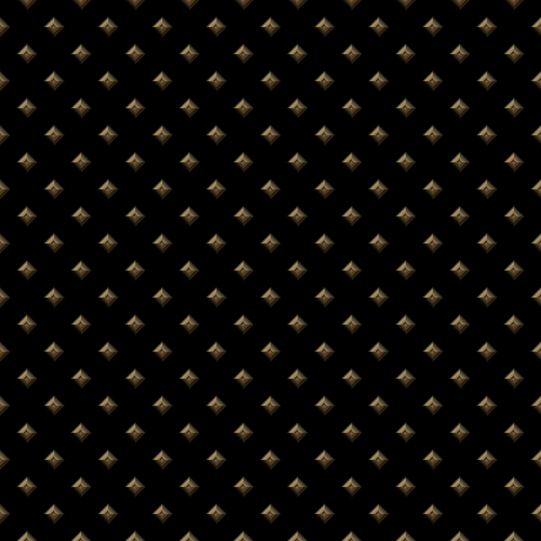 3D Tile 4: Tilable gold or bronze tiles on black background with a 3d effect. You may prefer this:  http://www.rgbstock.com/photo/nUlqg16/3D+Tile+1