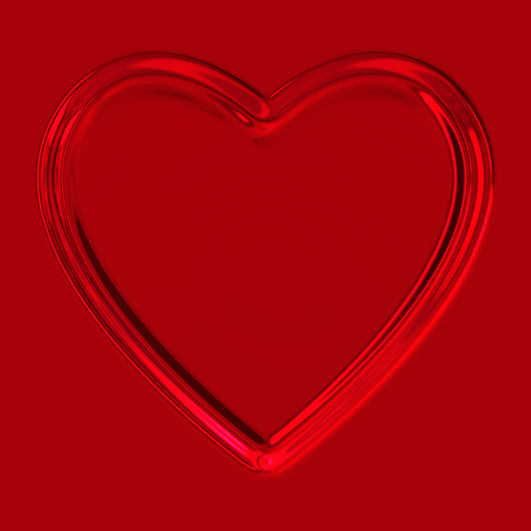 Heart C: A metallic raised or pressed heart against a plain red background. You may prefer: http://www.rgbstock.com/download/xymonau/mQiHveI.jpg  or:  http://www.rgbstock.com/photo/mQb7kDi/Lots+of+Hearts+5