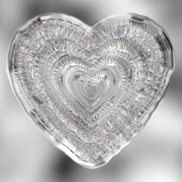 Crystal Heart: A glass or crystal 3d heart, You may prefer:  http://www.rgbstock.com/photo/mQlp7zI/Heart+A  or:  http://www.rgbstock.com/photo/mQbgtcS/Heart+of+Glass