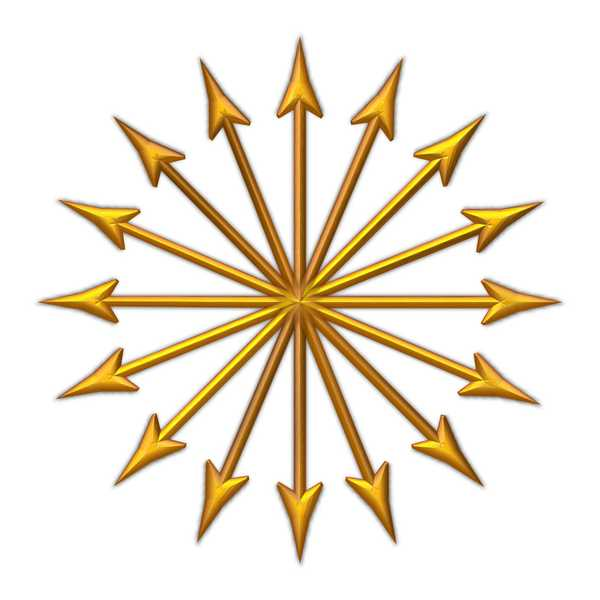 Compass Arrow Points 1: Golden arrow compass points or decorations. You may prefer:  http://www.rgbstock.com/photo/pnzeurM/Compass+Arrow+Points+4
