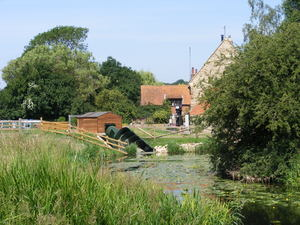 Hardwater Mill Hydroelectric: Modern Hydroelectic installation at an ancient Watermill on the River Nene, Northamptonshire, UK