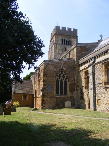 Earls Barton Church: All Saints Church, Ealrs Barton, Northamptonshire, UK