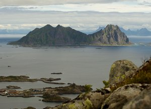 Island: one of Lofoten island fromhundreds, Norway
